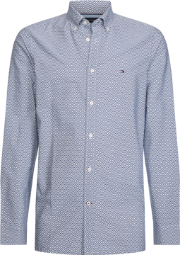 Tommy Hilfiger SLIM NATURAL SOFT PRINTET SHIRT