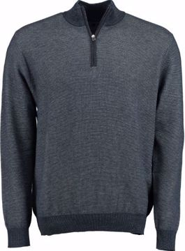 GM LUXURY HALFZIP KNIT