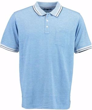 BLB MENS STRETCH POLO